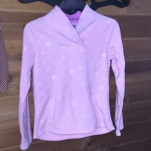 Athletic Work pink sweater with stars